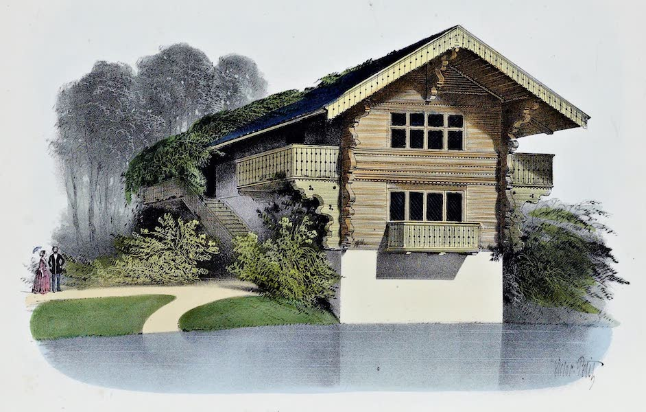 Habitations Champetres Vol. 1 - Chalet du Lac d'Enghien (1848)