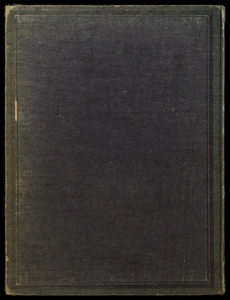 Habitations Champetres Vol. 1 - Back Cover (1848)