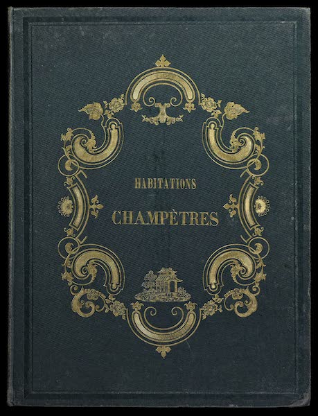 Habitations Champetres Vol. 2 - Front Cover (1848)