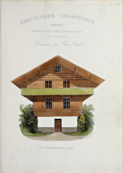Habitations Champetres Vol. 2 - Title Page (1848)