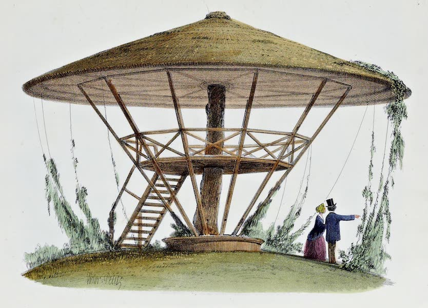 Habitations Champetres Vol. 2 - Parasol de Robinson, Parc de la Motte (1848)