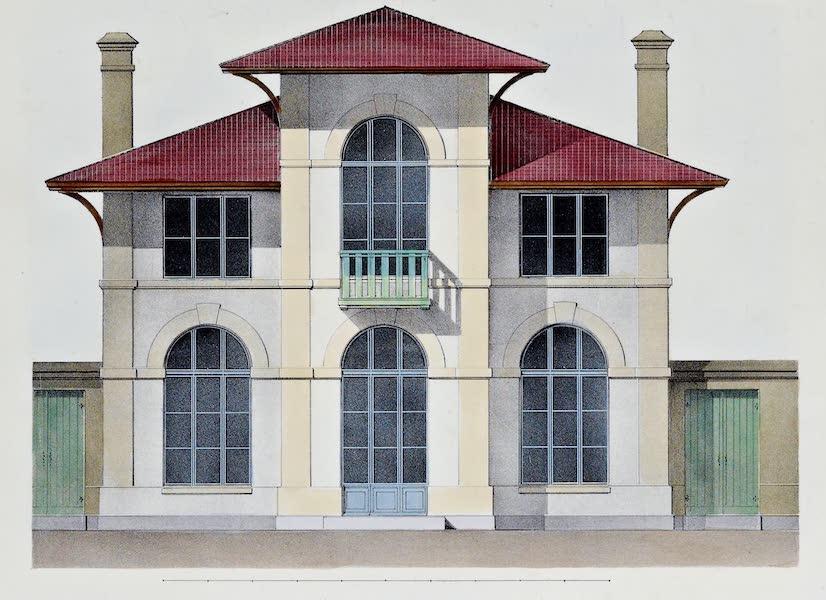 Habitations Champetres Vol. 2 - Petit Facade d'Orangerie (1848)