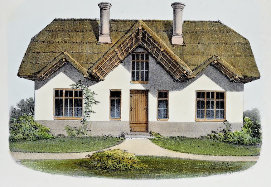 Habitations Champetres Vol. 2 - Petit Chaumiere Anglaise (1848)