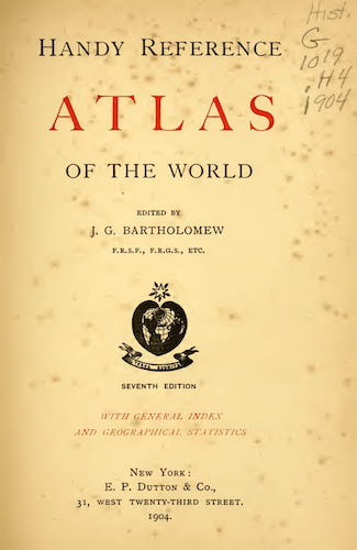 English - Handy Reference Atlas of the World