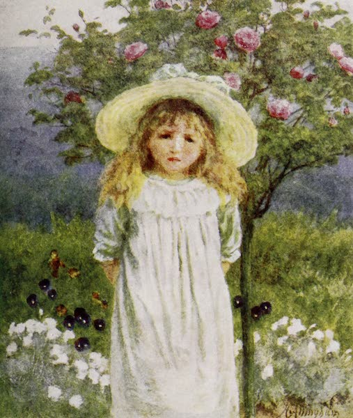 Happy England Painted and Described - In the Farmhouse Garden (1909)