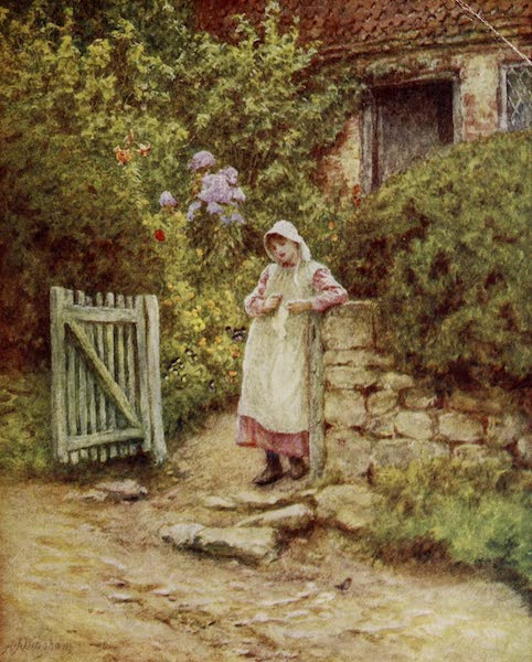 Happy England Painted and Described - The Robin (1909)