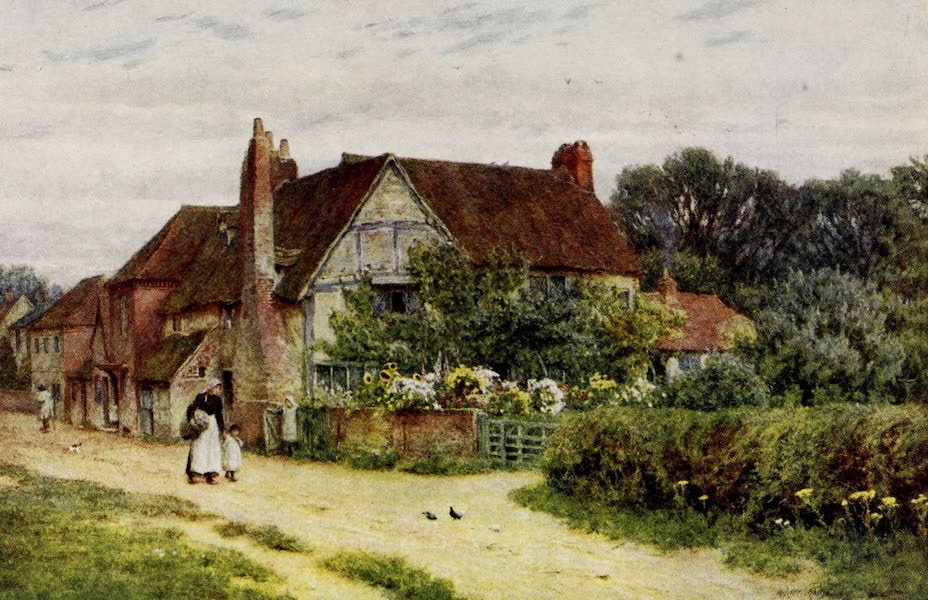 Happy England Painted and Described - Milton's House, Chalfont St. Giles (1909)