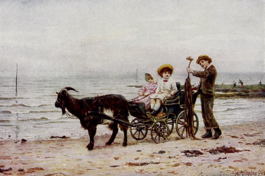 Happy England Painted and Described - The Goat Carriage (1909)