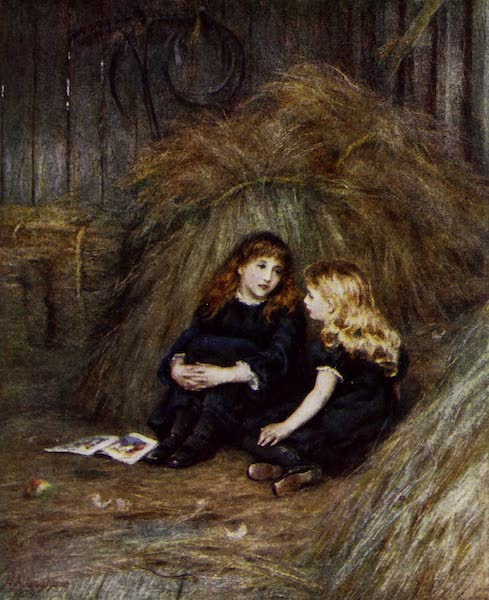 Happy England Painted and Described - In the Hayloft (1909)