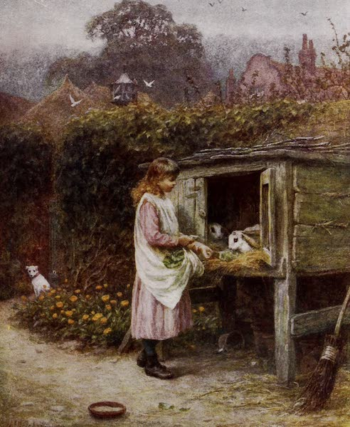 Happy England Painted and Described - The Rabbit Hutch (1909)