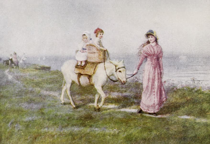Happy England Painted and Described - The Donkey Ride (1909)