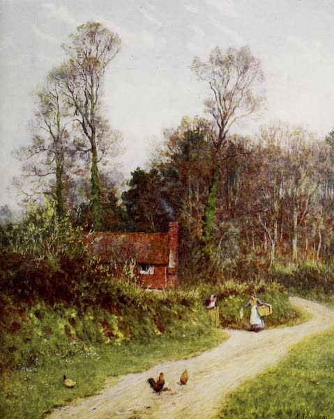 Happy England Painted and Described - A Witley Lane (1909)