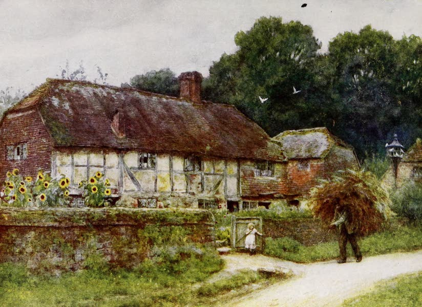 Happy England Painted and Described - In Witley Village (1909)