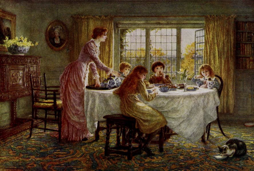 Happy England Painted and Described - The Children's Tea (1909)