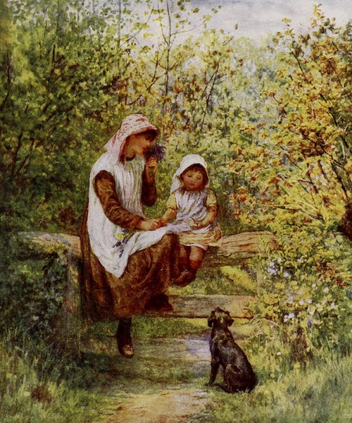 Happy England Painted and Described - The Stile (1909)