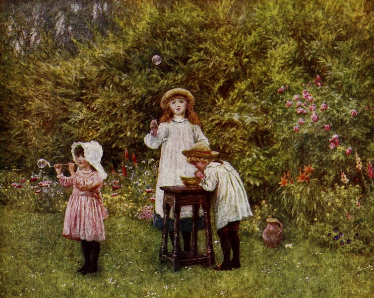 Happy England Painted and Described - Bubbles (1909)