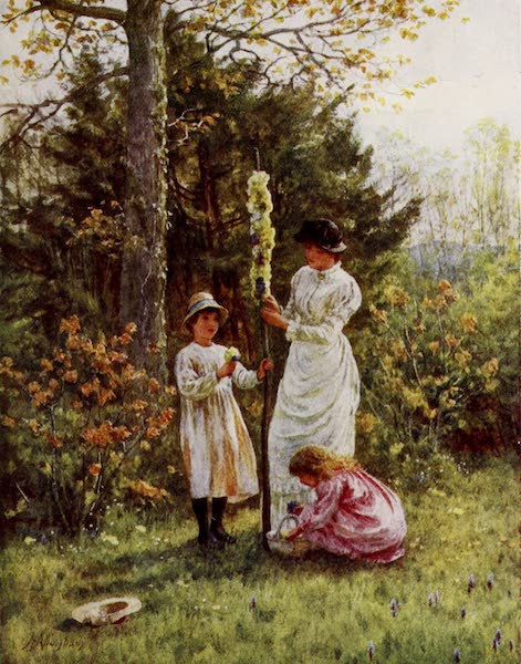 Happy England Painted and Described - The Children's Maypole (1909)