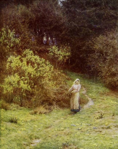 Happy England Painted and Described - Spring on the Kentish Downs (1909)