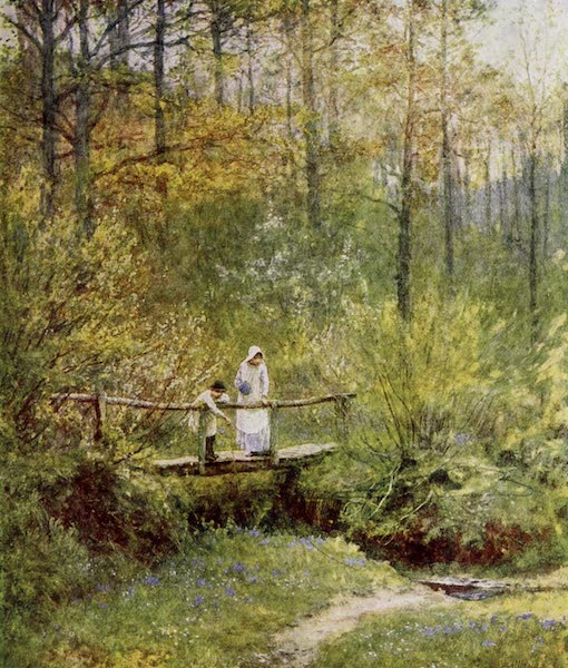 Happy England Painted and Described - Tig Bridge (1909)