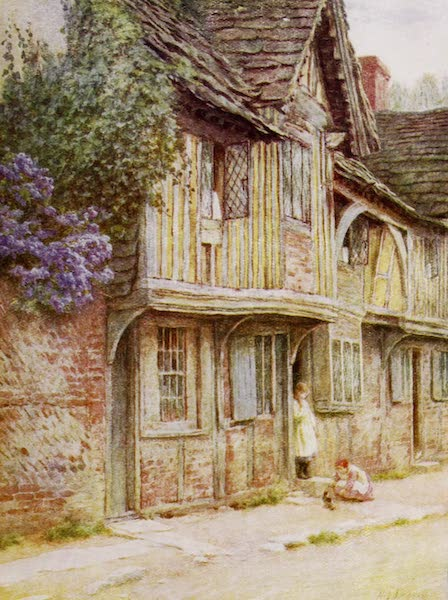 Happy England Painted and Described - An Old House at West Tarring (1909)