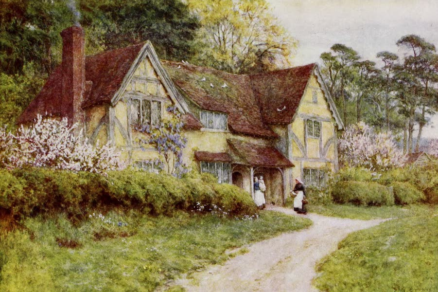 Happy England Painted and Described - An Old Buckinghamshire House (1909)