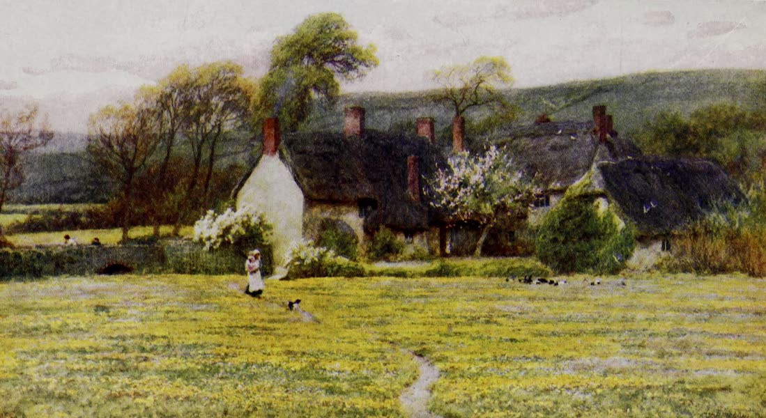 Happy England Painted and Described - Duke's Cottage (1909)