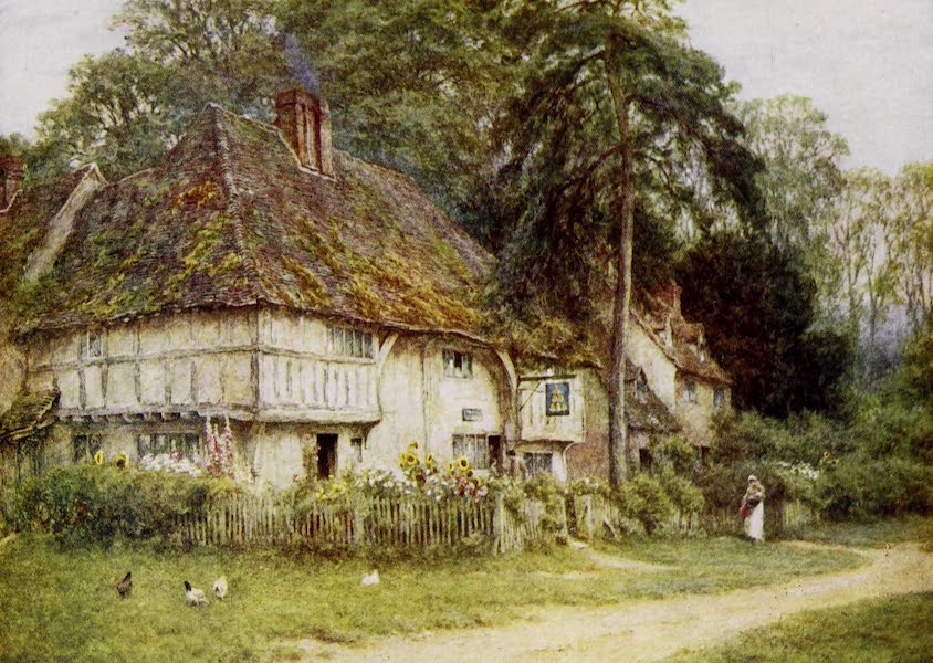 Happy England Painted and Described - The Six Bells (1909)