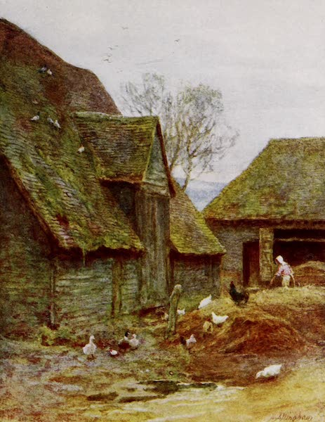 Happy England Painted and Described - A Kentish Farmyard (1909)
