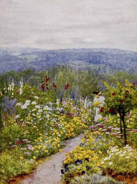 Happy England Painted and Described - A Kentish Garden (1909)