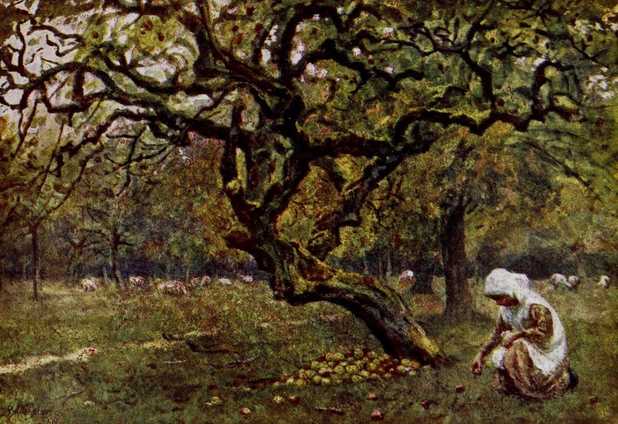 Happy England Painted and Described - The Apple Orchard (1909)