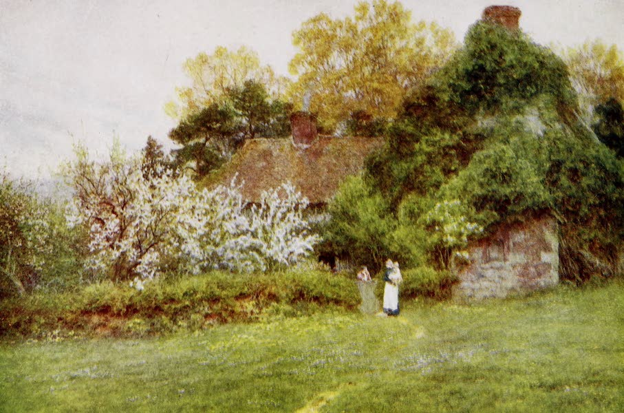 Happy England Painted and Described - Hook Hill Farm, Freshwater (1909)