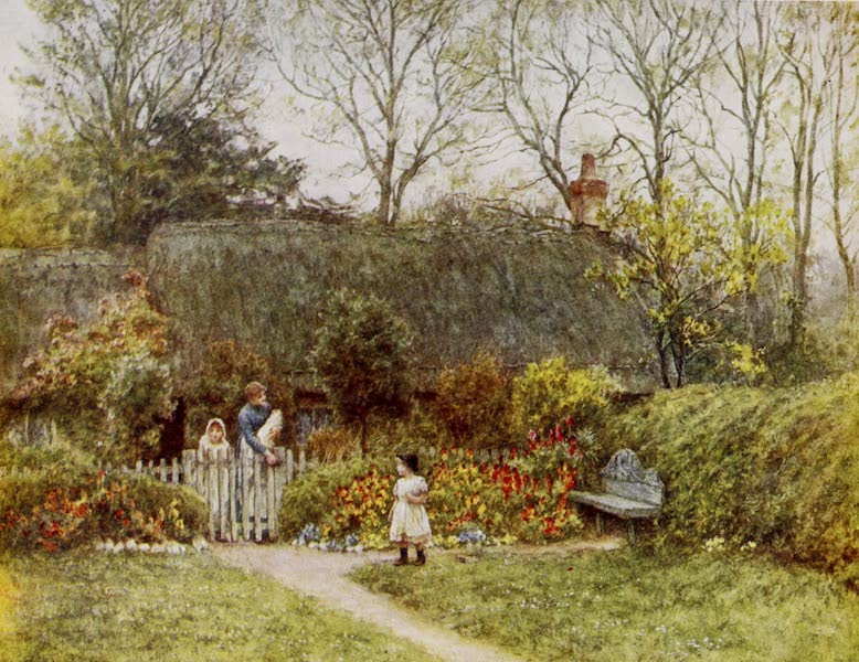Happy England Painted and Described - At Pound Green, Freshwater (1909)