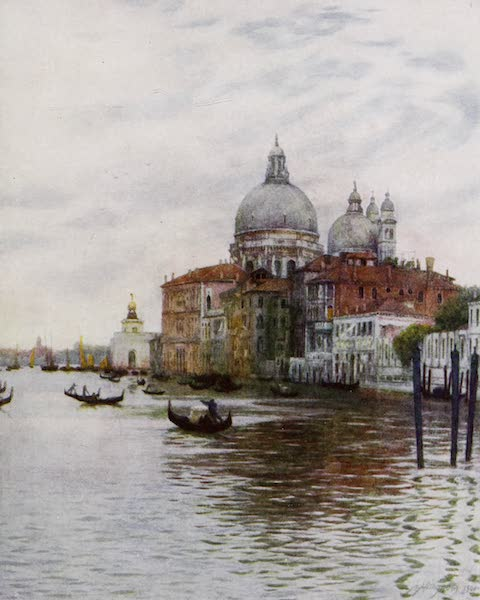 Happy England Painted and Described - The Church of Sta. Maria della Salute, Venice (1909)