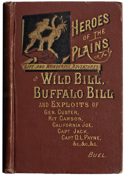 Heroes of the Plains - Front Cover (1881)