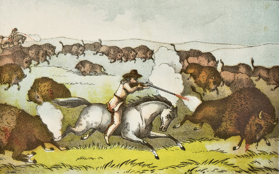 Heroes of the Plains - Buffalo Bill Wins the Championship (1881)