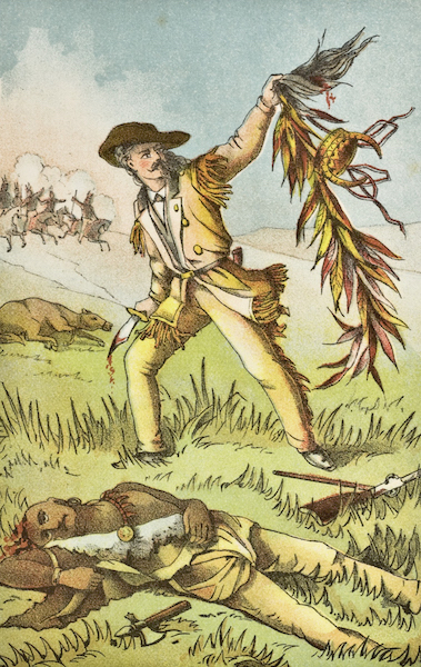 Heroes of the Plains - Buffalo Bill's Duel with Yellow Hand (1881)