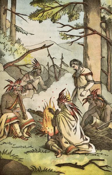 Heroes of the Plains - California Joe at the Stake (1881)