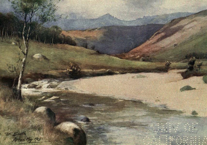 Highlands and Islands of Scotland Painted and Described - Glen Rosa, Arran (1907)