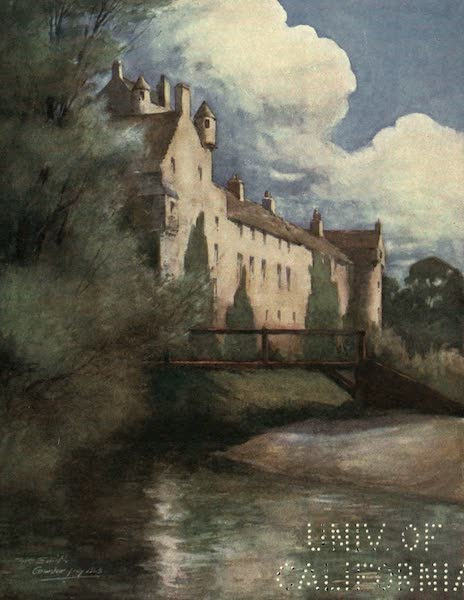 Highlands and Islands of Scotland Painted and Described - Cawdor Castle (1907)