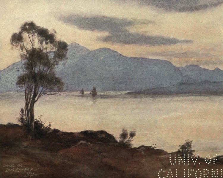 Highlands and Islands of Scotland Painted and Described - Loch Linnhe (1907)