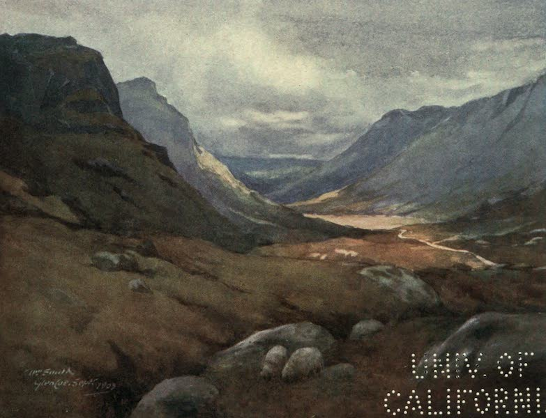 Highlands and Islands of Scotland Painted and Described - Glencoe (1907)