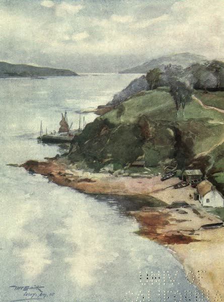 Highlands and Islands of Scotland Painted and Described - Port Askaig, Islay (1907)