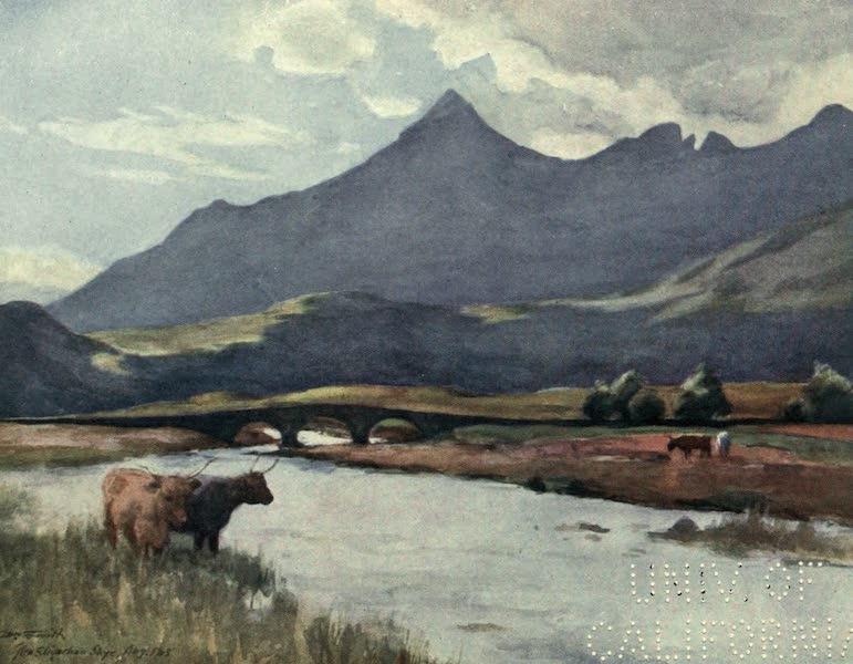 Highlands and Islands of Scotland Painted and Described - Glen Sligachan, Skye  (1907)