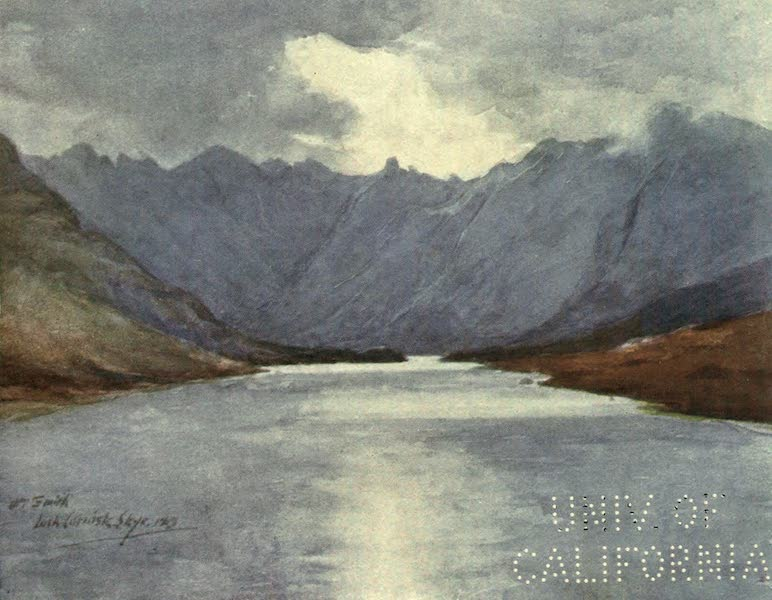 Highlands and Islands of Scotland Painted and Described - Loch Coruisk, Skye (1907)