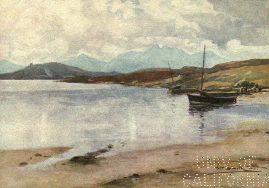 Highlands and Islands of Scotland Painted and Described - Kyle of Tongue and Ben Loyal (1907)
