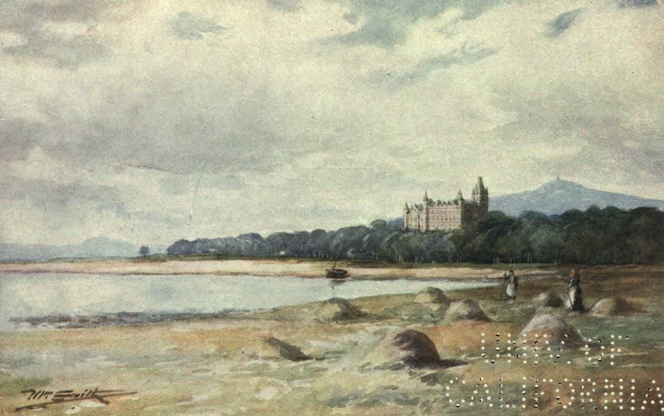 Highlands and Islands of Scotland Painted and Described - Dunrobin Castle, Sutherlandshire (1907)