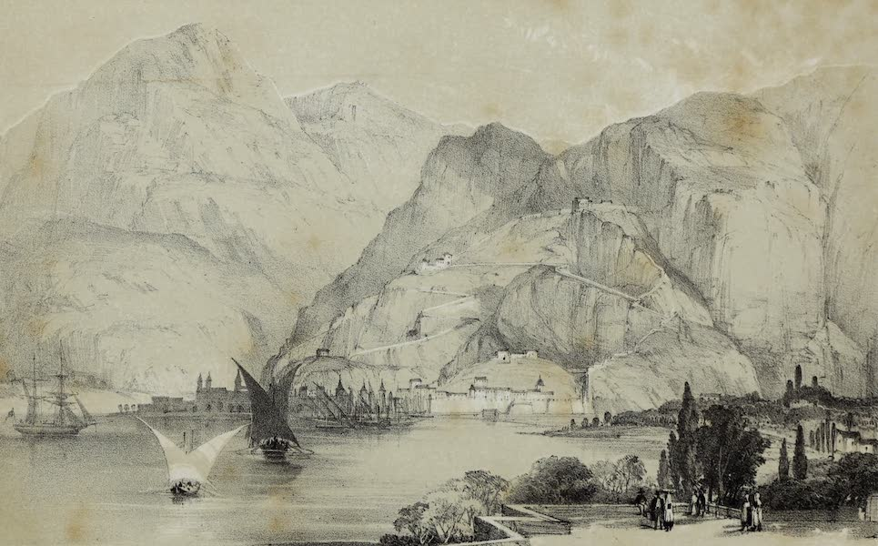 Highlands and Islands of the Adriatic - Cattaro (1849)