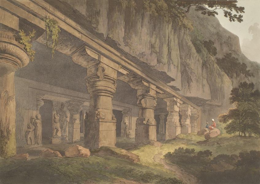 Hindoo Excavations in the Mountain of Ellora - Junwassa (1803)