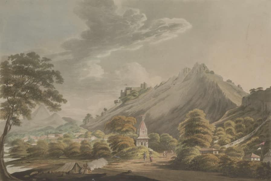 Torre Futtapoor, a Fort in Bundelcund
