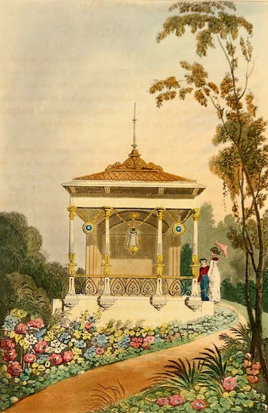 Hints on Ornamental Gardening - An Alcove (1823)